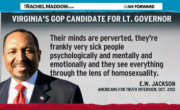 Rachel Maddow Teaches Virginia Lt. Governor Candidate E.W. Jackson Why Lying Is Wrong