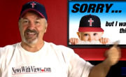 Hysterical 'Coach' Dave Daubenmire Was Born That Way