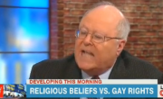 Bill Donohue Hysterically Tries To Explain To Chris Cuomo Why Gays Shouldn't Be Equal
