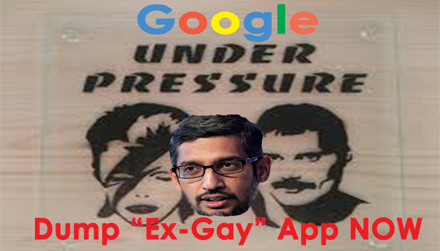 Google blasted over 'pray the gay away' app that brands