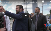 TWO joins protest against Make America Straight Again hate conference
