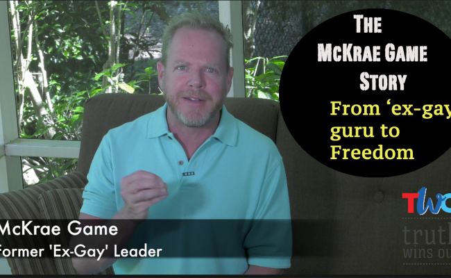 From 'ex gay' guru to freedom: The McKrae Game Story