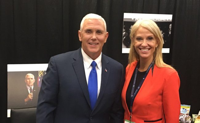 "Former 'Ex-Gay' Leader Confirms that Kellyanne Conway and Mike Pence Support ""ex-gay"" ministries"