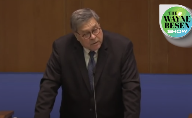 Media Overlooks the Root Cause of Attorney General  William Barr's Bizarre Actions